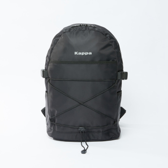 Kappa Backpack with Zip Closure and Adjustable Shoulder Straps