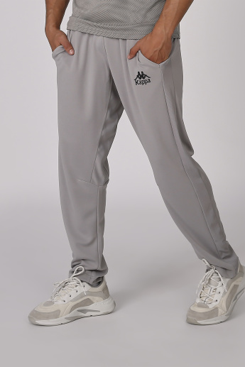 Sustainability Kappa Plain Jog Pants with Elasticised Waistband
