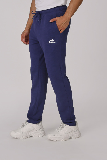Kappa Full Length Track Pants with Elasticised Waistband and Pockets