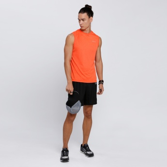 Proactive Sleeveless T-Shirt with Round Neck