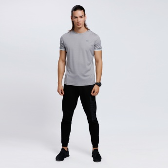 Crew Neck T-Shirt with Short Sleeves
