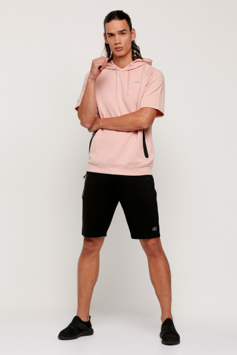 Shorts with Pocket Detail and Elasticised Waistband