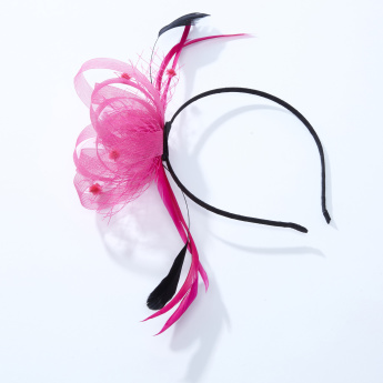 057cdfed6d1cc Floral Mesh Hair Band