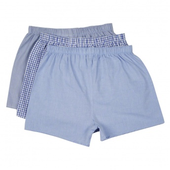 Woven Boxer Shorts - Pack of 3