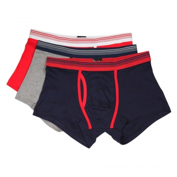 Jersey Hipster Rib Boxers - Pack of 3