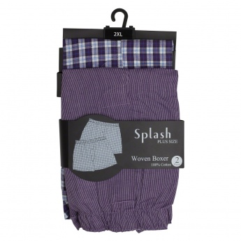 Woven Boxers - Pack of 2