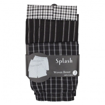Woven Boxers - Pack of 3