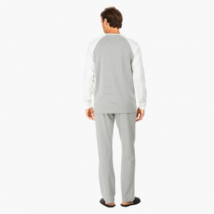 Melange Lounge Pants and T-shirt Set
