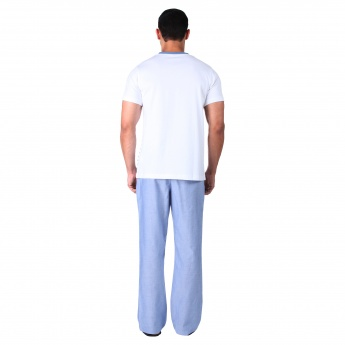 Dual-tone T-shirt and Pants Set