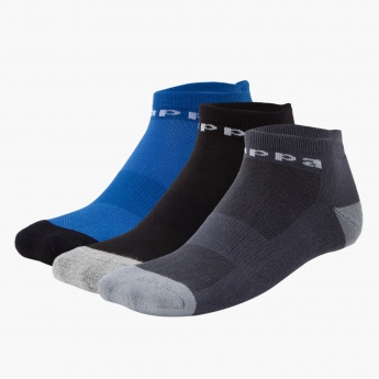 Kappa Ankle-length Socks - Set of 3