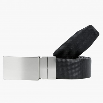 Textured Belt with Snap-On Closure