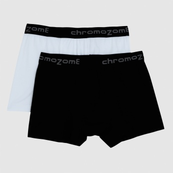 Trunks with Elasticised Waistband - Set of 2