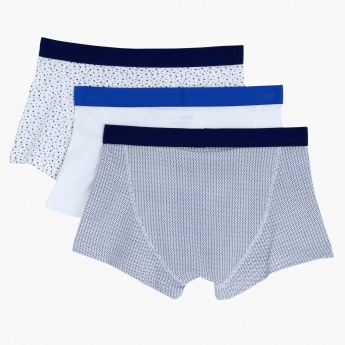 Briefs with Elasticised Waistband - Set of 3