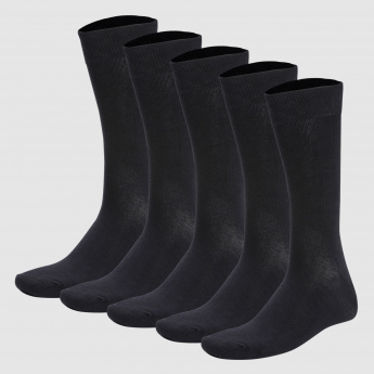 Calf Length Socks - Set of 5