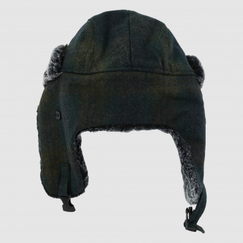 Plush Cap with Ear Flap
