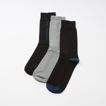 Quarter Length Socks - Set of 3