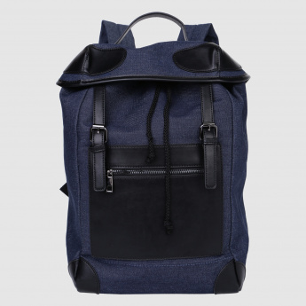 Backpack with Drawstring Closure