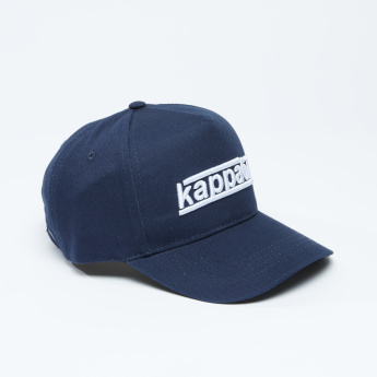 8cd9219b5f4 Kappa Embroidered Cap with Stitch Detail