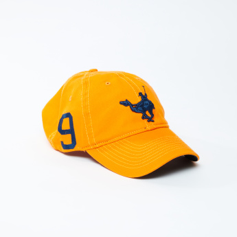 Embroidered Cap with Adjustable Slide Closure