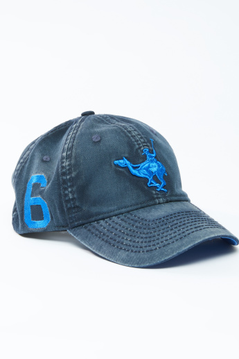 a5fb098eec4 Embroidered Baseball Cap with Stitch Detail