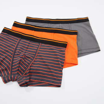Set of 3 - Assorted Trunk with Elasticised Waistband