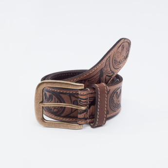 Printed Belt with Pin Buckle