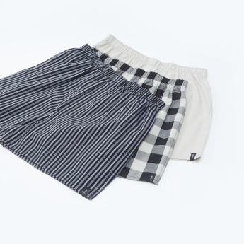 Set of 3 - Assorted Boxers with Elasticised Waistband