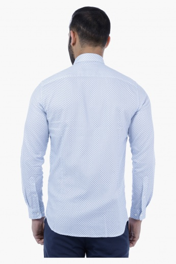Prnted Shirt with Long Sleeves