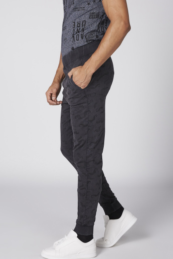 Smiley World Printed Jog Pants with Elasticised Waistband