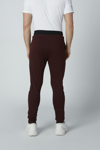 Sustainability Simley World Full Length Solid Pants with Pocket Detail