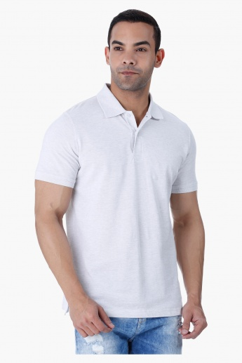 Basic Polo Neck T-shirt