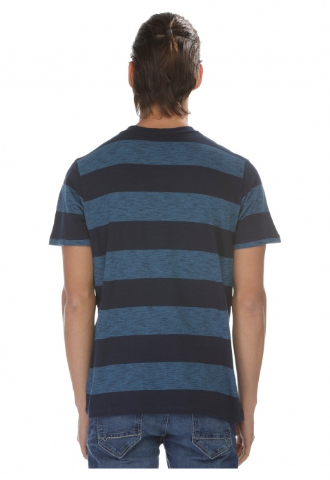V-Neck Striped T-shirt