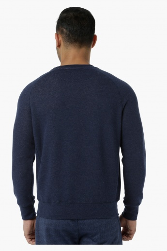 Basic Sweater with Raglan Sleeves in Regular Fit