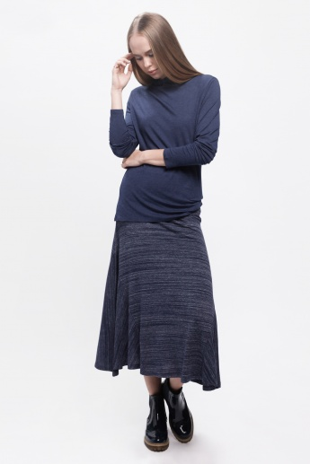 Textured Skirts with Asymmetric Pattern