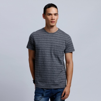 Organic Cotton Printed Short Sleeves T-Shirt