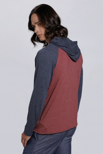 Long Sleeves T-Shirt with Hood