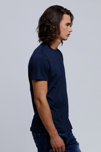 Round Neck T-Shirt with Short Sleeves