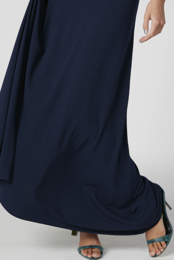 A-Line Maxi Skirt with Elasticised Waistband