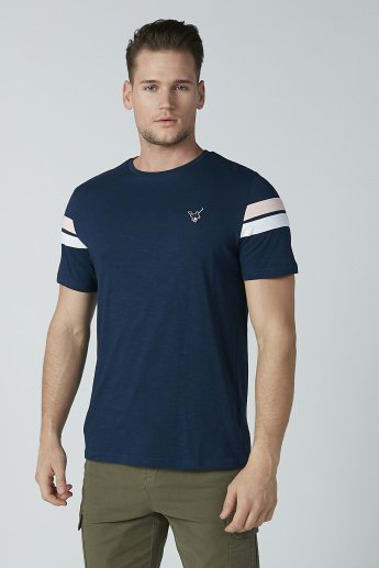 Sustainability Crew Neck T-shirt with Short Sleeves