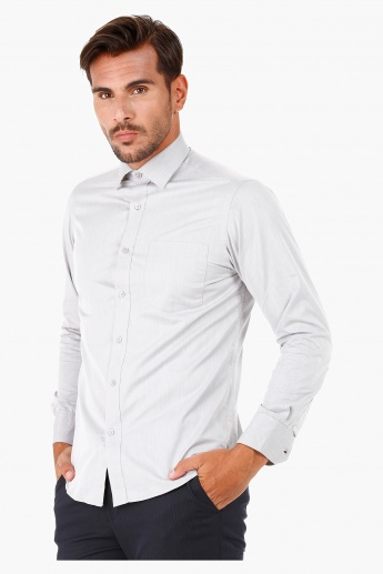 Formal Shirt with Full Sleeves in Regular Fit