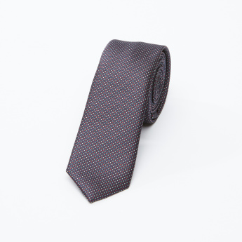 Textured Regular Neck Tie