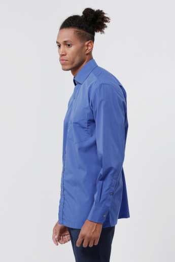 Zodiac Long Sleeves Shirt with Complete Placket