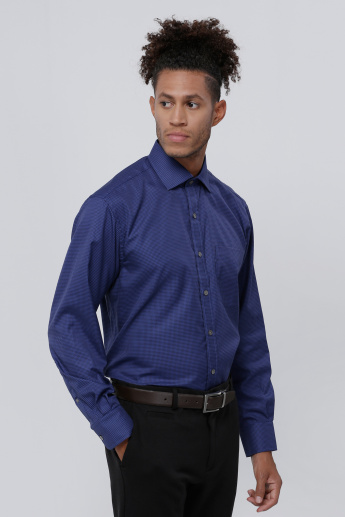 Zodiac Shirt with Long Sleeves and Complete Placket