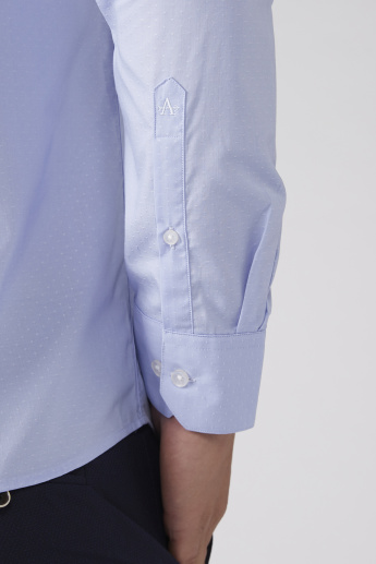 Arrow Long Sleeves Shirt with Complete Placket