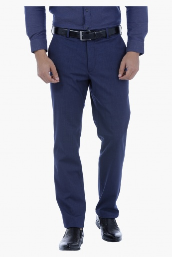 Straight Fit Suit Trouser