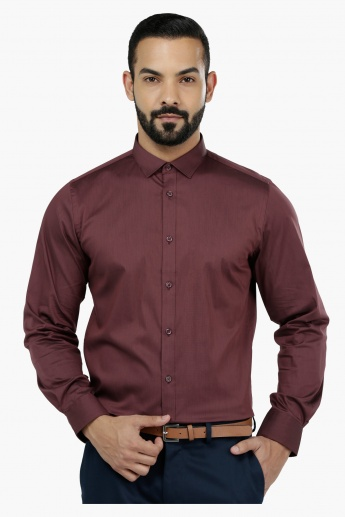 Long Sleeves Body Fit Formal Shirt