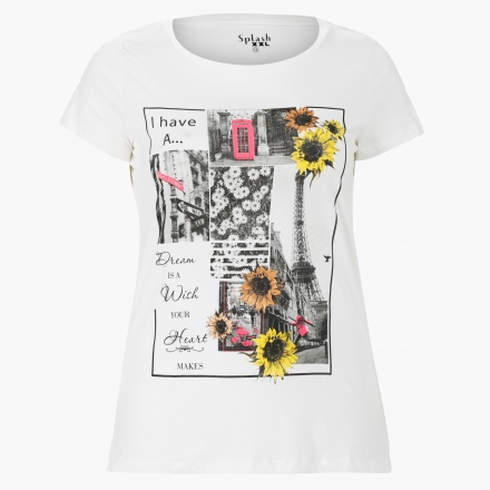 Plus Size Graphic Print T-Shirt