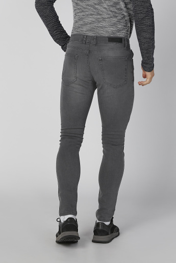 Koton Plain Jeans with Pocket Detail