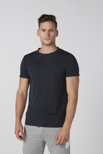 Koton Round Neck T-shirt with Short Sleeves