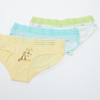 Winnie-the-Pooh Printed Hipster Briefs - Set of 3